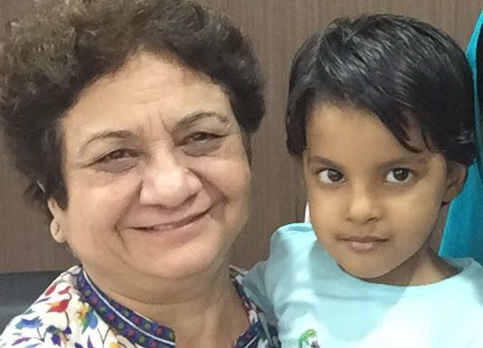 Dr-Beena-Muktesh-with-IVF-Baby